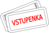 Vstupenka - Czech Version Clip Art