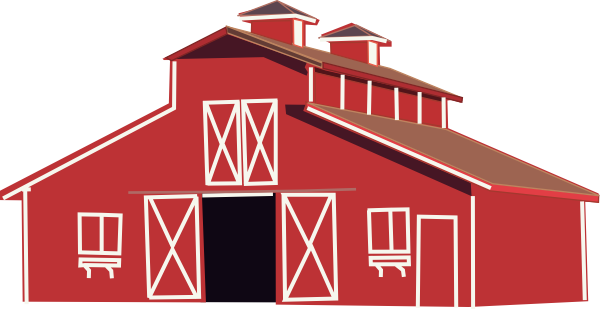 Info about Cartoon red barn