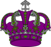 Royal Purple Promo. Clip Art
