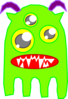 Green Monster Clip Art