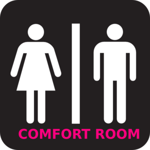 Rest Room Sign Clip Art