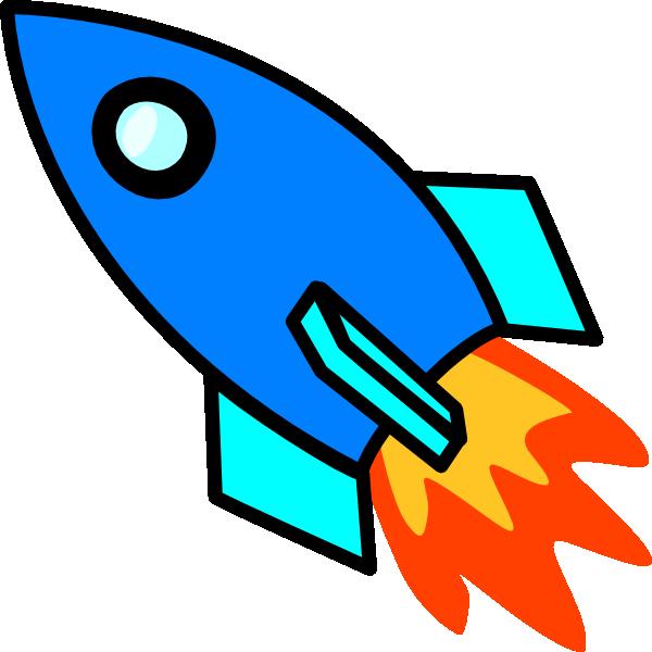 blue rocket clip art at clker com vector clip art online royalty rh clker com cute rocket ship clipart rocket ship clipart png