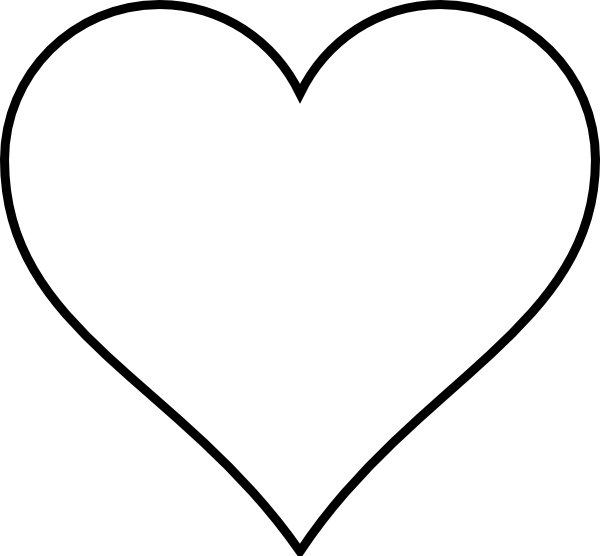 Wedding Hearts Clipart Black Heart Wedding Cl...