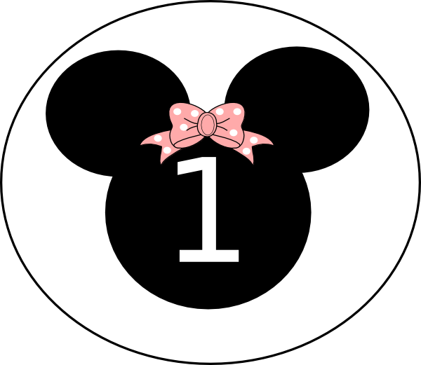 Birthday Minnie Clip Art At Clker Com Vector Clip Art