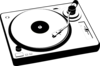 Turntable3 Clip Art