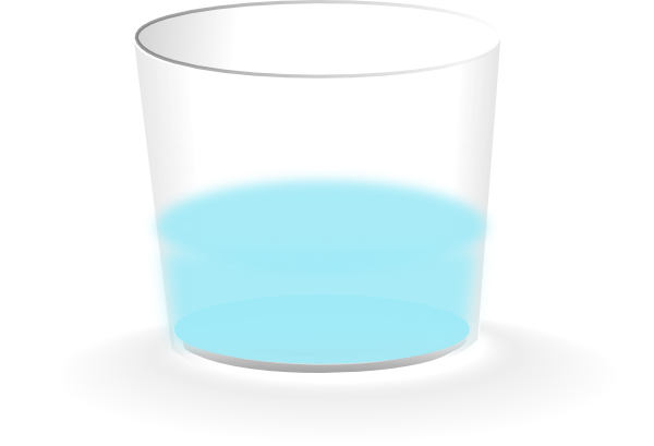 cup of water clipart - photo #11