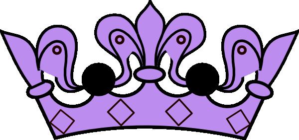 Purple crown. Clip art at clker