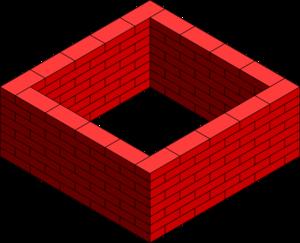 brick wall square clip art at clker com vector clip art online rh clker com brick wall clipart grey brick wall clipart black and white