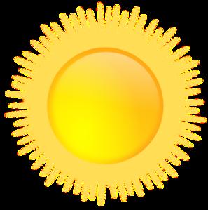 Sun Icon Clip Art