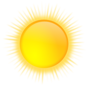 Sun Icon Clip Art at Clker.com - vector clip art online, royalty free ...