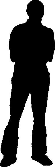 Man Silhouette Clip Art at Clker.com - vector clip art ...