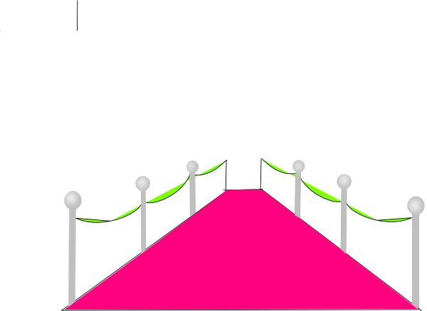 Pink and green carpet clip art at clkercom vector clip for Green carpet png