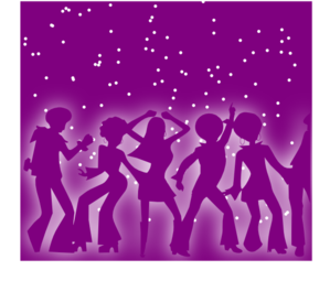 Disco Purple Clip Art