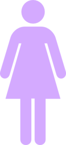 Lavender  Female Symbol Clip Art