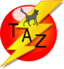 Taz Decal Clip Art