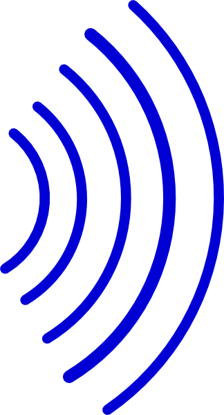 Rf Signal Wave Clip Art At Vector Clip Art