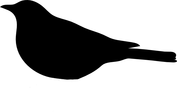 Bird Silhouette Clip Art at Clker.com - vector clip art ...