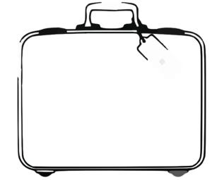 Sweden Suitcase Clip Art at Clker.com , vector clip art