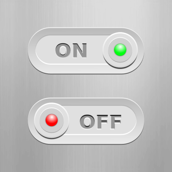On Off Switches Clip Art at Clker.com - vector clip art ...