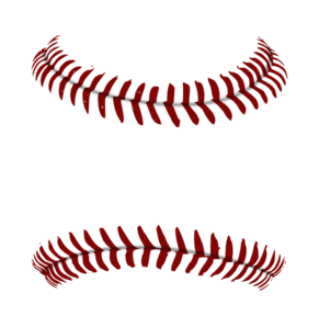 Red Baseball 1 Clip Art