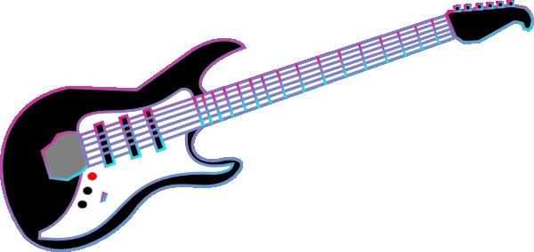 rock on clip art at clker com vector clip art online royalty free rh clker com free pink guitar clipart free guitar clipart images