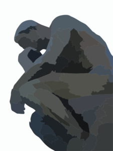 Thinker Clip Art