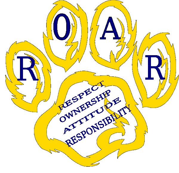 tiger roar clipart