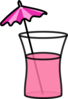 Pink Cocktail Clip Art