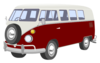 Campervan Red Clip Art