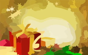 Christmas Wallpaper Clip Art