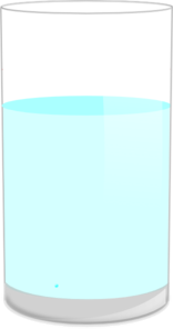 Glass Of Water 1 Clip Art