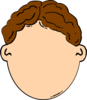 Brown Hair Boy Clip Art