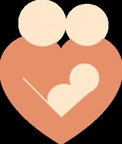 heart family clip art at clker - vector clip art online, royalty