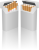 Cigarette Boxes Clip Art