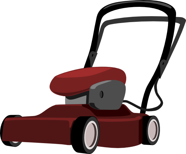 Lawn Mower 2 Clip Art at Clker.com - vector clip art online, royalty ...