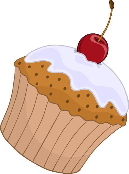 muffin clip art at clker com vector clip art online Birthday Wishes Clip Art Birthday Friend Clip Art