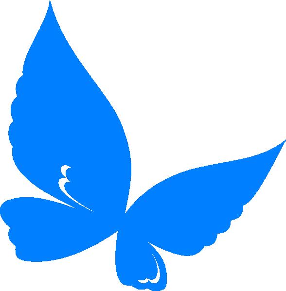 blue butterfly clip art at clker com vector clip art online rh clker com blue morpho butterfly clipart light blue butterfly clipart
