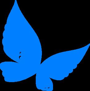 blue butterfly clip art at clker com vector clip art online rh clker com blue morpho butterfly clipart blue butterfly clipart images