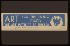 Art For The Public The Art Institute Of Chicago. Clip Art