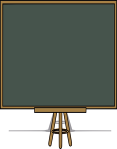 Long Drawing Board Clip Art