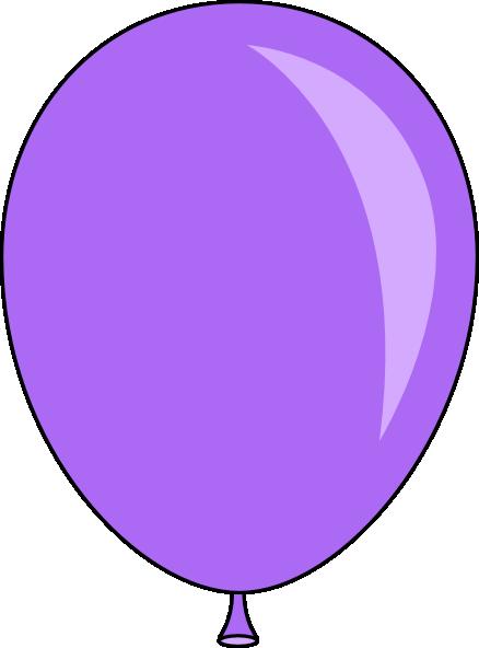 Light Purple Balloon Clip Art at Clker.com - vector clip ...