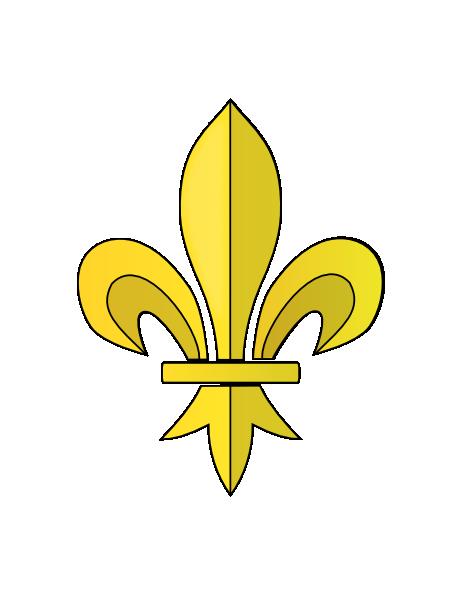 Fleur de lys clip art at vector clip art online royalty free public domain - Fleur de lys symbole ...