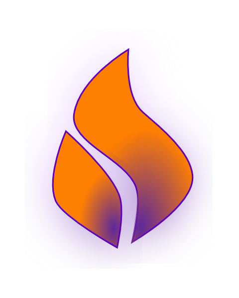 Flames Spirit Spirit Flame Purple Orange