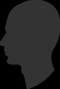 Head Profile Silhouette Male Clip Art at Clker.com - vector clip art ...   201 x 299 png 5kB