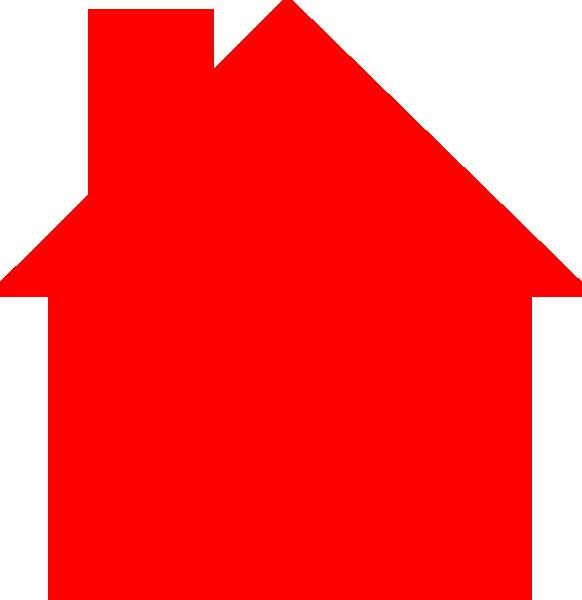 Red q logo house logo red clip art
