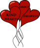 Group Hearts Clip Art