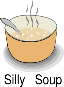 Silly Soup Title Clip Art