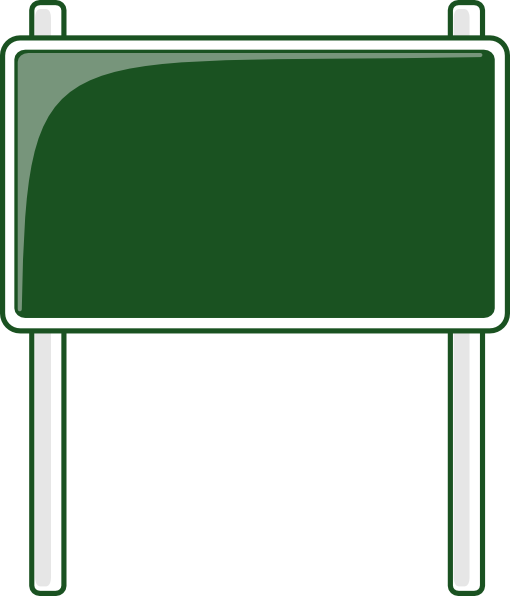 Green Road Sign Clip Art at Clker.com - vector clip art ... Green Road Sign Png