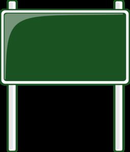 green road sign clip art at clker com vector clip art online rh clker com sign clip art vector sign clipart free