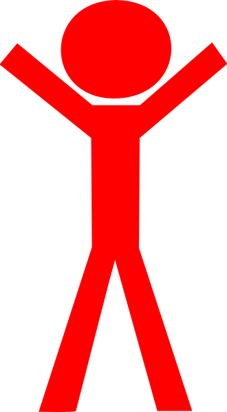 Red Stick Man Clip Art at Clkercom vector clip art  : red stick man hi <strong>Big</strong> Office from www.clker.com size 330 x 598 png 14kB